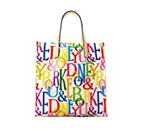 Hot Sale Dooney & Bourke Clear Retro Lunch Tote Multi
