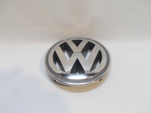 [해외]정품 VW 골프, 토끼, Jetta, Passat 프론트 크롬 그릴 엠 블 럼 로고 MK5 OEM 1K5 853 600/Genuine VW Golf, Rabbit, Jetta, Passat Front Chrome Gr