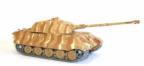 1/16 German KingTiger Porsche Turret Air Soft RC Battle Tank Smoke & Sound (Upgrade Version w/ Metal Gear & Tracks)