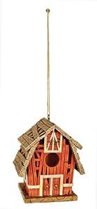 Red Carpet Studios Birdie in The Woods Bird House, Red Barn
