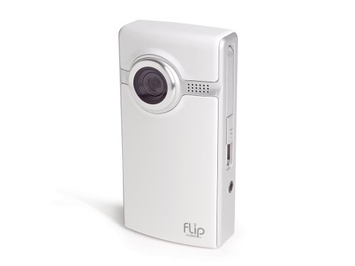 Flip Ultra Video Camera - White, 1  GB, 30 Minutes (1st Generation) OLD MODEL