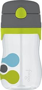 Thermos FOOGO Phases Straw Bottle, Tripoli Design, 11 Ounce