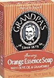Bar Soap - Orange Essence With Olive Oil and Camomile, 3.25 oz ( Multi-Pack) by GRANDPA'S