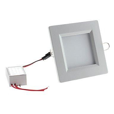 6W 650-700Lm 3500-3800K Warm White Light Square Led Ceiling Bulb(85-265V)