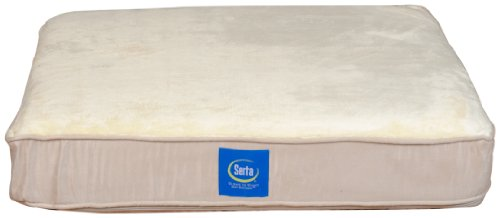 Serta True Response Orthopedic Pet Bed, Small front-447583