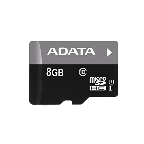 ADATA Premier 8GB microSDHC/SDXC UHS-I U1 Memory Card with Adapter (AUSDH8GUICL10-RA1) (Micro Sd Adata compare prices)