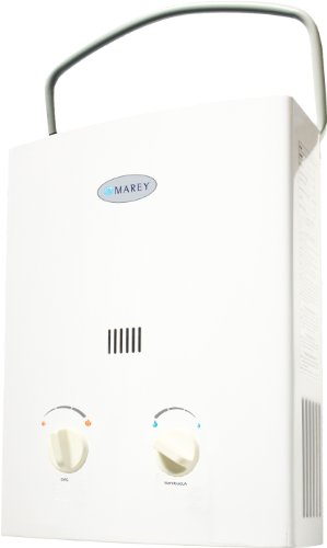 Marey Power Mini Portable Propane Gas Tankless Water Heater