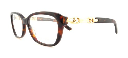 Jimmy Choo JIMMY CHOO Eyeglasses 79 08Q2 Havana Rose Gold 52MM