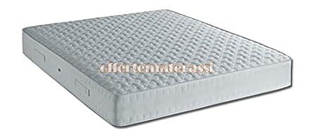Materasso piazza e mezza molle Bonnell Orthopedico Box Effetto Casa 120x190-195-200 cm