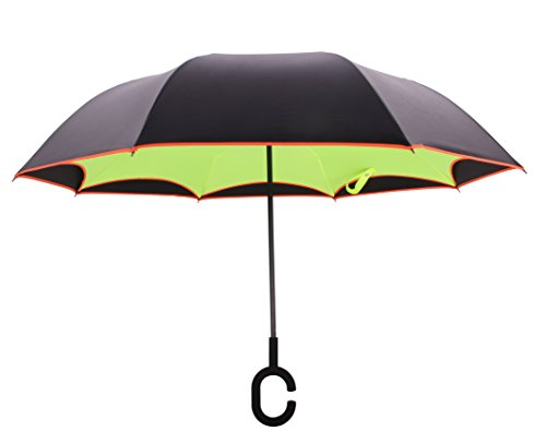 Newbrellas unique inverted drip free vehicle reflective - Parasol anti uv 50 ...