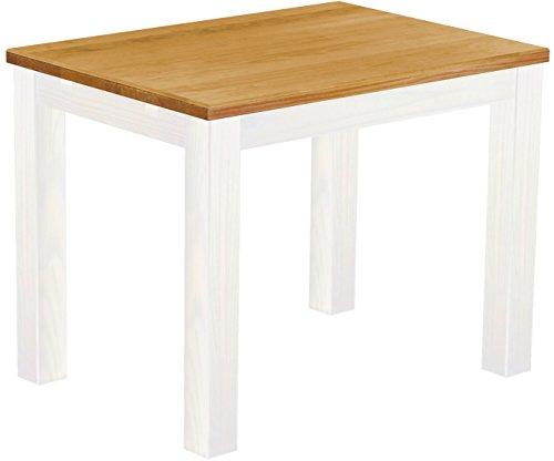 Brasilmoebel-Esstisch-Rio-Classico-100-x-73-cm-Pinie-Massivholz-Brasilmbel-Honig-Weiss-in-27-Gren-und-45-Farben-in-1215-Varianten-Echtholz-mit-33-mm-durchgehend-massiven-Platten-aus-nachhaltiger-Forst
