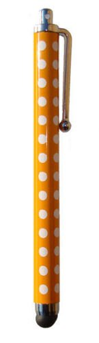 Buona qualità POLKA Posh Oro DOT SPOT buona qualità Pois tocco dello stilo per iPad, iPhone 5, 5S, 5C, Smartphone, S4 I9499, Per tutti iPad, iPhone, iPod, Samsung, Blackburry, e tutti i telefoni intelligenti e