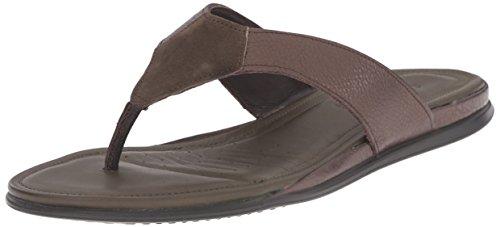 ECCO Touch Sandal Sandali Infradito, Donna, Verde(Licorice Metallic/Tarmac 59780), 39