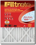 "3m 9811DC-6 20"" X 36"" X 1"" Micro Allergen Reduction Filters 1000"