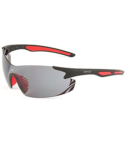 NRC Pro_Line P8.8 Cycling Glasses One Size Black/Red