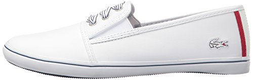 Lacoste Women's Fabian 416 1 Caw Fashion Sneaker, White, 6.5 M US