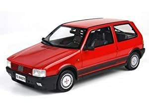 Amazon.com: Fiat Uno Turbo i.e. Resin Model Car: Toys & Games