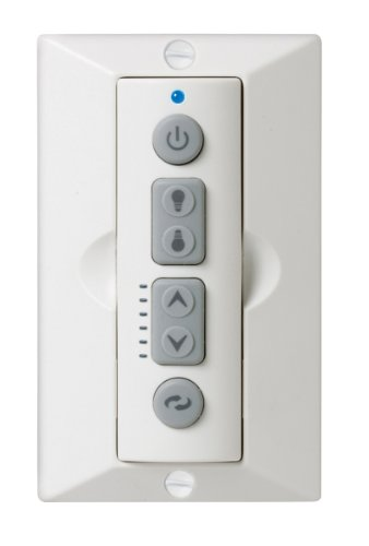 Emerson Sr650 Six-Speed Full-Function 2-In-1 Led Remote Control, White
