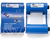 Zebra 800017-240 - YMCKO Cartridge for P1XXi - 200 plastic cards - P100i/P110i/P120i, with 1 cleaning