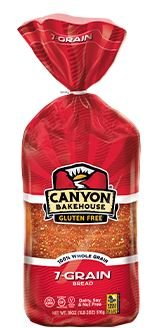 Canyon Bakehouse Gluten Free San Juan 7 Grain Bread 18oz. (Pack of 4) (Seven Grain Bread compare prices)