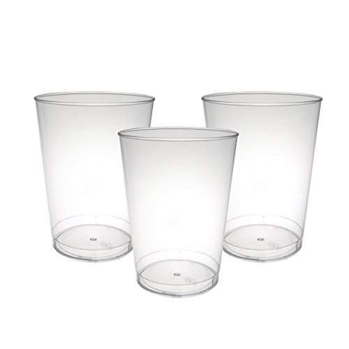 party-essentials-hard-plastic-10-ounce-party-cups-tumblers-100-count-clear