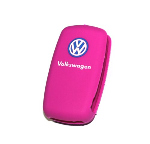 vw-volkswagen-pink-remote-key-silicone-protecting-key-case-cover-fob-holder-3-buttons