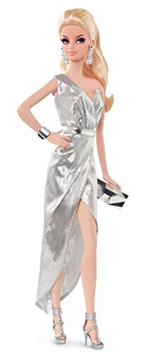 Barbie-Mueca-Look-Silver-Dress-Mattel-CFP35