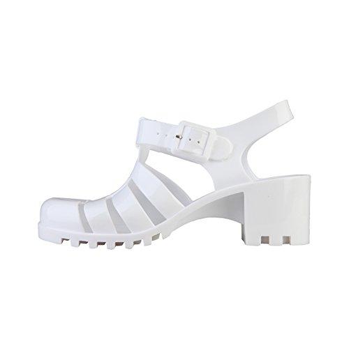 sandali scarpe Superga S42P527_BIANCO Bianco