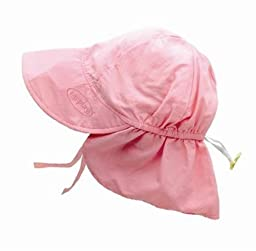 i play. Solid Flap Sun Protection Hat, Light Pink, Toddler (2 4 Years)
