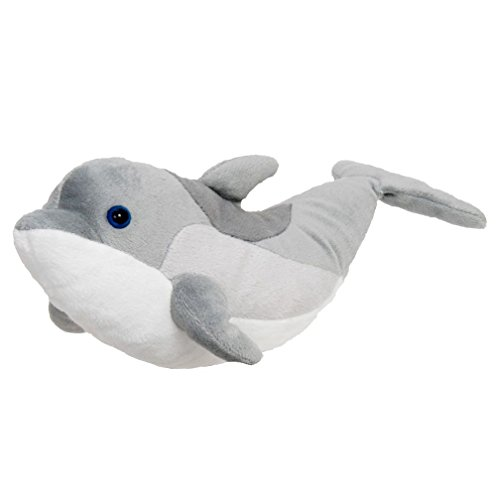 "12"" Happy Tail Bottlenose Dolphin Plush Stuffed Animal Toy - 1"