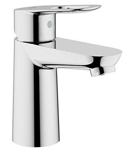 GROHE 23337000 0.5-inch Basin Mixer Tap with Smooth Body - Chrome