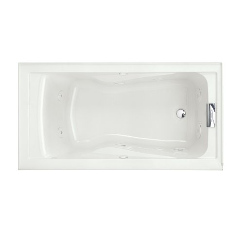 Cheapest Price! American Standard 2422VC.020 Evolution 5-Feet by 32-Inch Deep Soak Whirlpool Bath Tu...