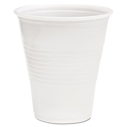 Boardwalk TRANSCUP14CT Translucent Plastic Cold Cups, 14oz (Case of 1000)