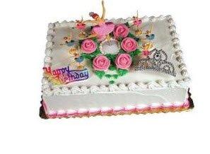 Cakesupplyshop Packaged Girls Ballerina Dancers & Tiara Crown Cake Decoration Cake Topper - 1