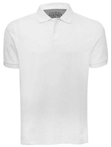 Mens basic polo shirt White XXL