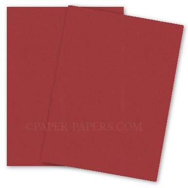 Curious Metallic - RED LACQUER Card Stock - 111lb Cover - 8.5 x 11 - 25 PK