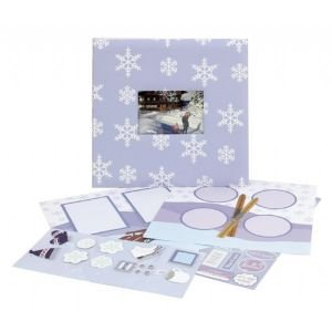 CR Gibson Winter Complete Scrapbook Kit