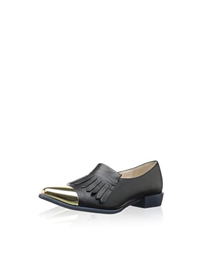 ALL BLACK Women's Kilty Tips Flat