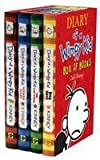 Jeff Kinney Diary of a Wimpy Kid Boxset: Diary of a Wimpy Kid / Rodrick Rules / The Last Straw / Dog Days