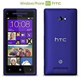 HTC 8x Blue (Factory Unlocked) Windows Phone 8, Dual-core 1.5 Ghz Snapdragon Specail Gift for Special One Fast Shipping