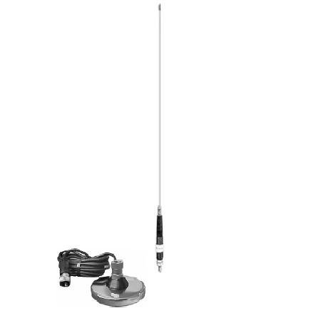 Procomm JBC112-4800 4 ft. Dial-A-Match Ant. with 3 in.Mag-12 ft. Coax
