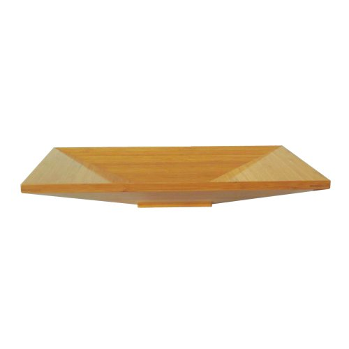 Yosemite Home Decor BRAXTON-S 3-Inch High Natural Bamboo Topmount Modern Euro Vessel Sink