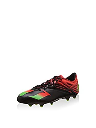 adidas Botas de fútbol Messi 15.1 FG/AG (Negro / Rojo)