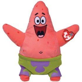 TY Beanie Babies Patrick Star [Toy] - 1