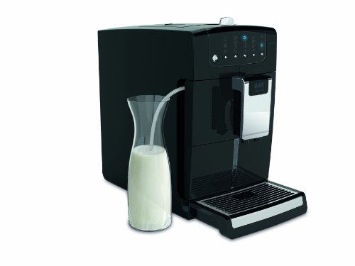 WIK Cremaroma 9758 Vollautomatische Kaffee-, Espresso- und Cappuccino-Maschine (Cappuccinatore) schwarz thumbnail