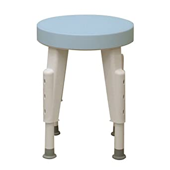 Ableware rotating shower stool adjustable - Amazon bedroom chairs and stools ...