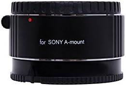 Golitonreg Macro Extension Tube Set Ring Adapter for Sony Cameras with Aluminium alloy mount