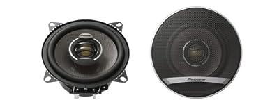Pioneer TS-E1002i 2-Wege Koaxial Auto-Lautsprecher (10 cm Wooferdurchmesser, zweilagiger IMX Aramid & Basaltfaserkonus mit Butylsicke, 110 Watt) von Pioneer bei Reifen Onlineshop