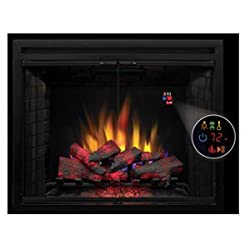 Pro Electric Fireplaces 39eb500-grs Electric Fireplace With 39-inch Swing Doors And Led Mesh Screen by Projectorshop24 442450683