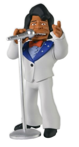 "NECA The Simpsons 25th Anniversary - Series 1 - James Brown Action Figure, 5"" - 1"